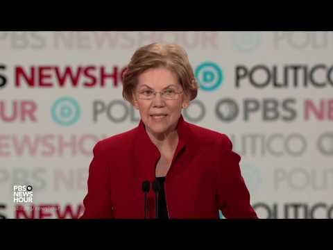 WATCH: Buttigieg, Warren spar over big dollar donors, fundraisers in wine caves