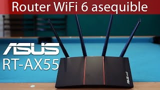 Router WiFi 6 asequible compat…