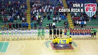 Futsal National Team vs. Costa Rica: Highlights - Nov. 8, 2015