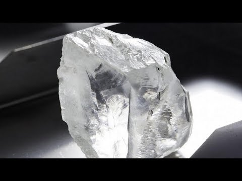 Super Deep Diamond Found In The Cullinan Mine Reveals Earth Minerals Never Seen Before.