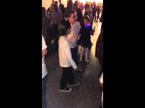 Ryan is such a hilarious dancer!! Charles Street School sock hop 2014