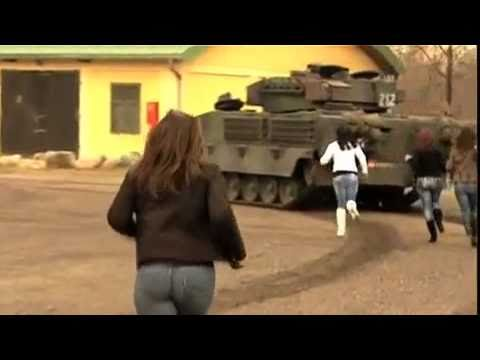 TANKS & GIRLS | FUNNY ARMY AD | Austrian Armed Forces