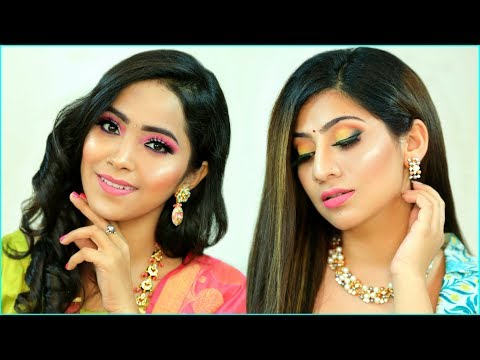 MUST Try Festive LOOK - RAKHI Special HAIRSTYLE & MAKEUP |  #Beauty #Tutorial #Fun #Anaysa thumbnail