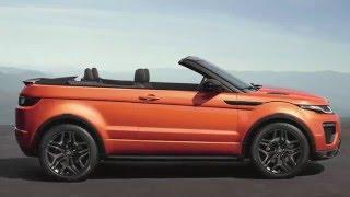 Новинка авто 2016.Range Rover Evoque Convertible.Test-drive new Range Rover