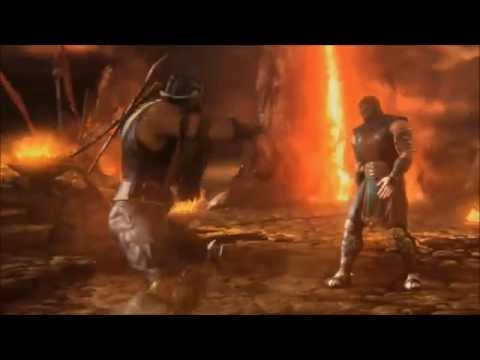 Scorpion vs Kratos: Get the Fuck Over Here! BITCH!