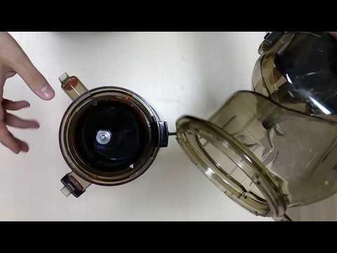 Сборка соковыжималки Mirandi J-60.  Как быстро и просто собрать соковыжималку Миранди J60.