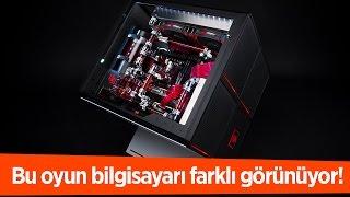 HP Omen X Türkçe İnceleme Videosu   Çılgın Tasarımlı Masaüstü Oyun Bilgisayarı!