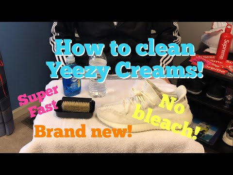 How to Clean Yeezy Creams