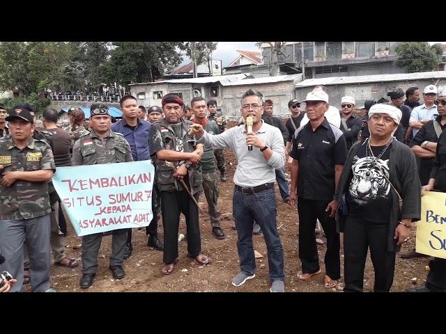 """Dirusak """"Situs Sumur Tujuh"""" Cagar Budaya Nasional, Tokoh Masyarakat Kota Bogor Murka"""