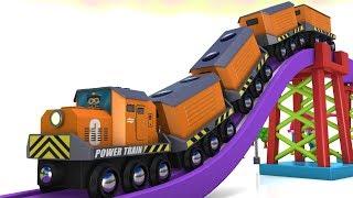 Toy Factory Train -Trains for kids Choo Choo Train - Brio Trains Cartoon