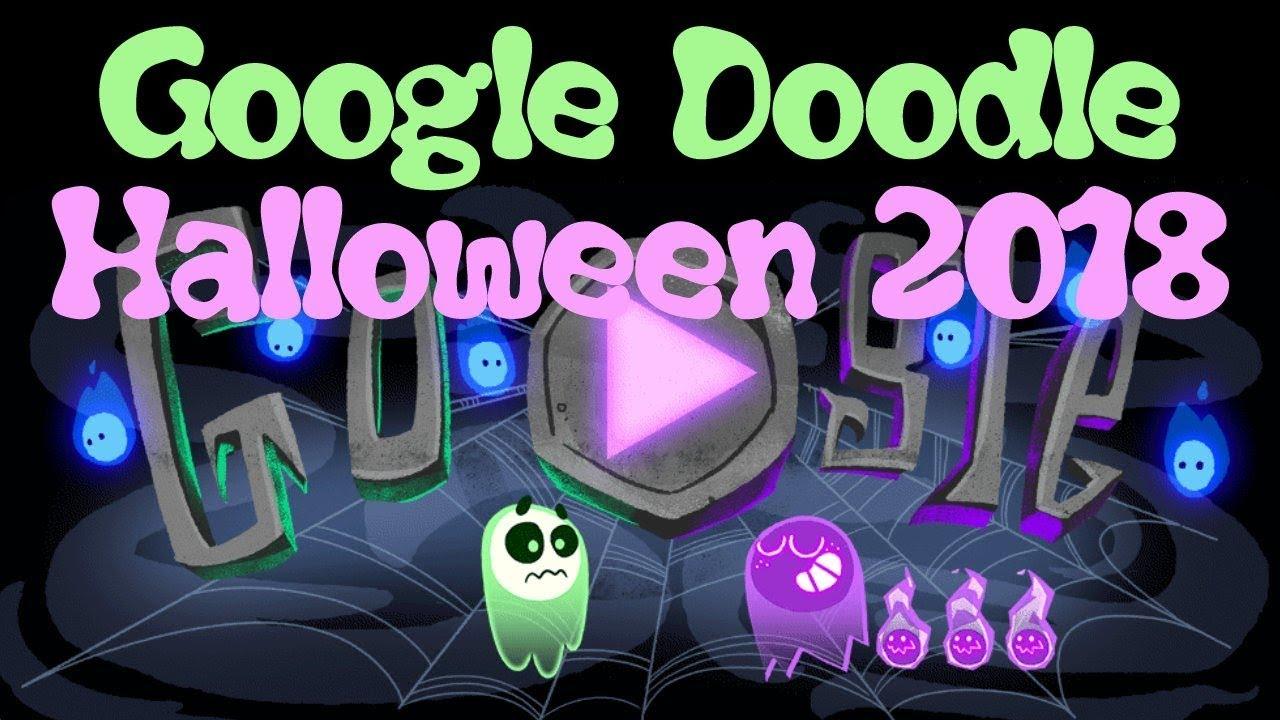 Google Doodle Halloween 2021 Spielen