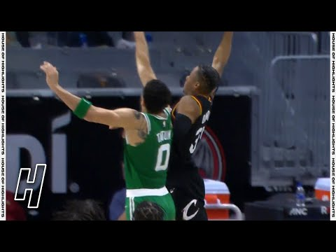 Isaac Okoro Dunks on Jayson Tatum - Celtics vs Cavaliers | March 17, 2021 | 2020-21 NBA Season