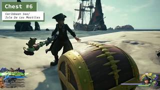 Kingdom Hearts 3 - The Caribbean - All Treasure Chest Locations