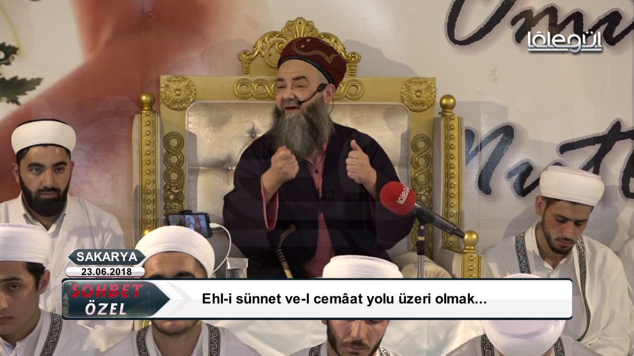 23 Haziran 2018 (Sakarya Özel Sohbeti) - Cübbeli Ahmet Hocaefendi Lâlegül TV
