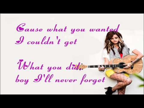 Cassadee Pope - Wasting All These Tears Lyrics