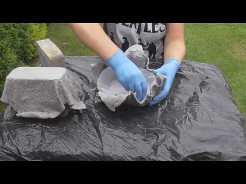 Doniczki Z Cementu Cement Pots Eng Subtitles Youtube
