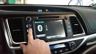 Toyota highlander Wiggins screen problems