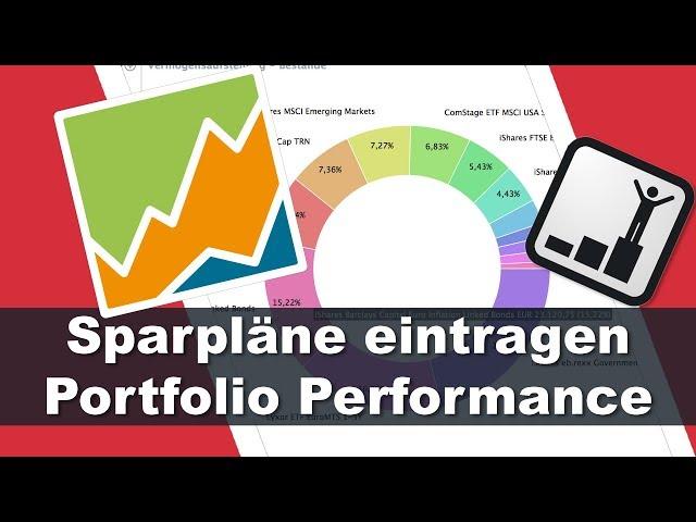 Sparpläne eintragen - Portfolio Performance Tutorial #2