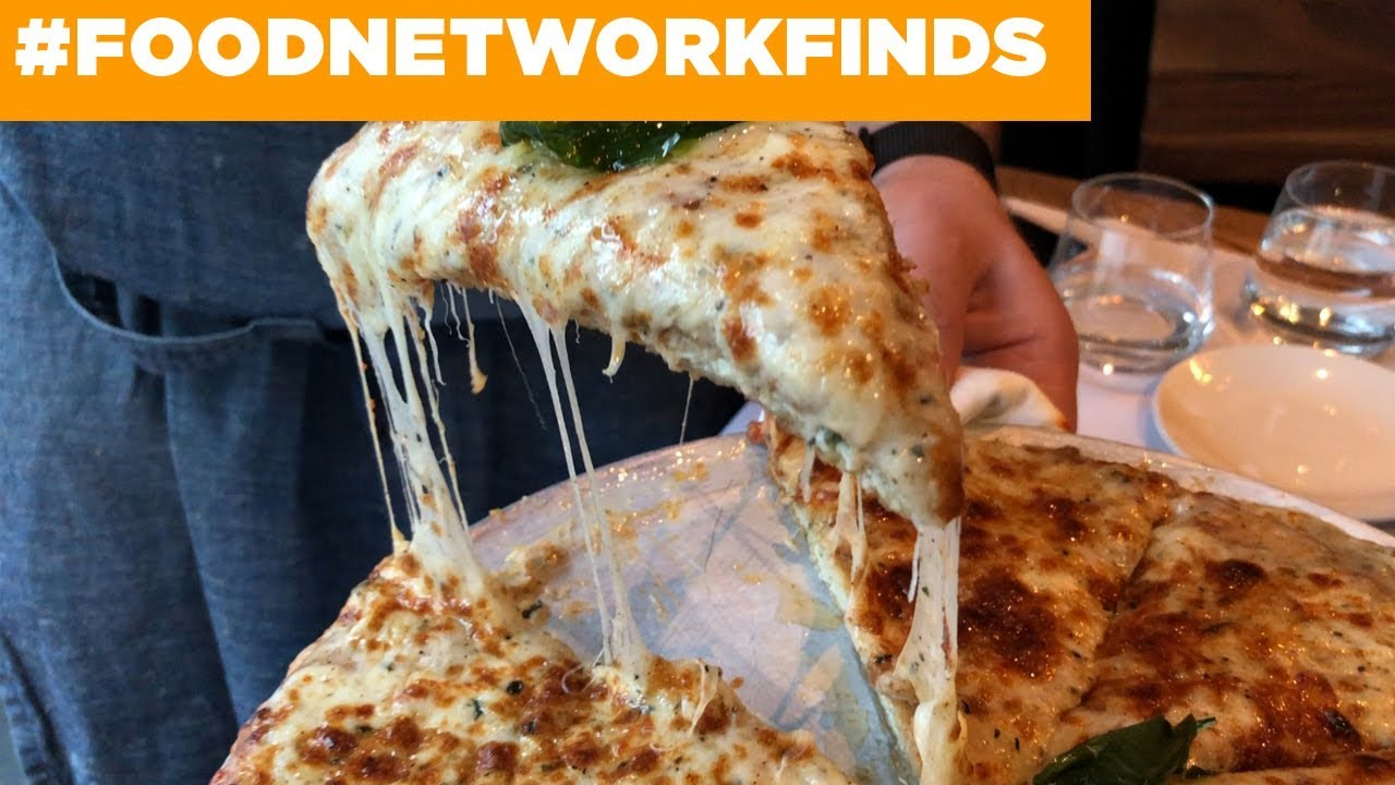 Chicken Parm Pizza At Quality Italian Food Network Youtube