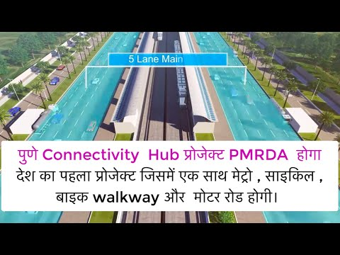 PMRDA Pune Ring Road Project: The First of It's kind of the connectivity hub In India.
