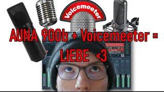 Mikrofon Qualität GRATIS VERBESSERN | Voicmeeter Tutorial | Auna 900 Review! Das ist mein Mic-Setup!