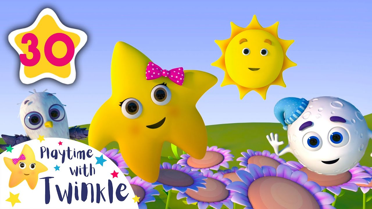 Peekaboo Song - Hide and Seek   Kids Songs & Nursery Rhymes   ABC & 123   Learn with Twinkle
