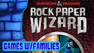 Dungeons & Dragons: Rock, Paper, Wizard Review with Games with Families