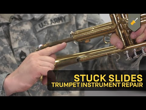 Stuck Slides: Trumpet Instrument Repair