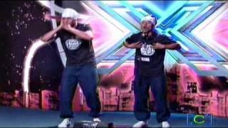 Los Raperos -  Soul Machine  (Alejo Raza Pana) - Bogotá - Audición Factor X 2009