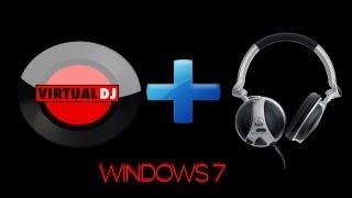 Como fazer pré escuta no virtual DJ - Windows 7