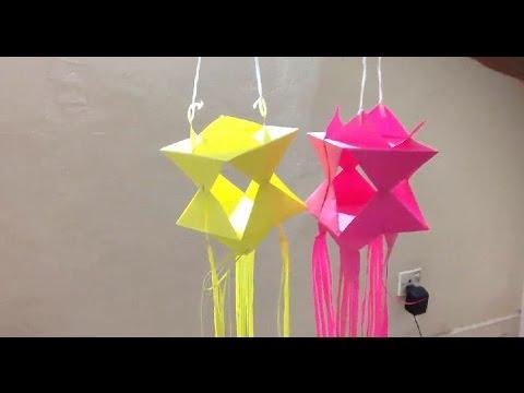 Wesak Lantern Origami Youtube