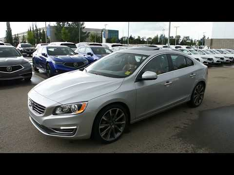 2015 Volvo S60 T5 AWD Premier Plus Walk Around Review | West Side Acura in Edmonton Alberta