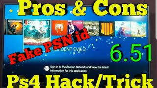Pros and cons of ps4 Hack/Trick 6.20-6.51(Hindi)