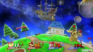 Smash Bros Wii U - Event Mode Family Ties
