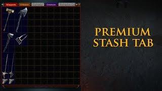 Path of Exile: Premium Tab