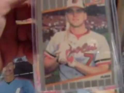 1989 Fleer error Baseball cards Billy Ripken,Randy Johnson Plus many more!!