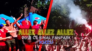 Epic Liverpool Fan Song Allez Allez Allez in Kyiv, Jamie Webster + aBossNight Kiev, UCL Final 2018