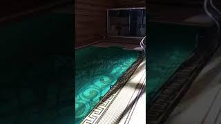 видео Жалюзийное покрытие для бассейна Rollo Cover