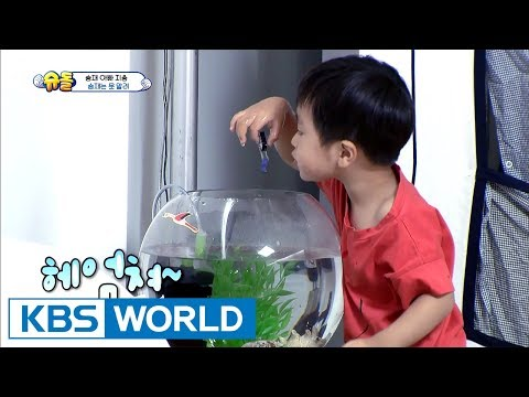 Seungjae drops his daddy's USB into a fish tank!…