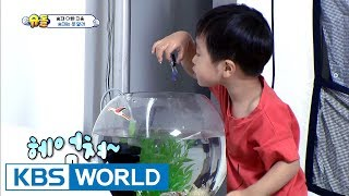 "Seungjae drops his daddy's USB into a fish tank!…""I'll rescue you!"" [TROS/2017.08.20]"