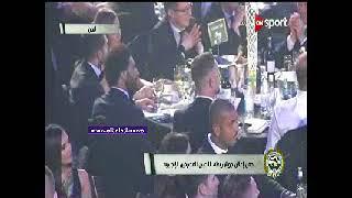 شاهد.. محمد صلاح قبل الإعلان عن الفائز بالأفضل في البريميرليج