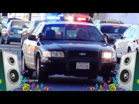 Police Car Song - Kids Car and Truck Music Video