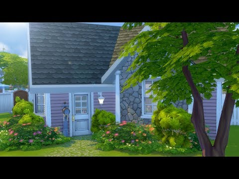 CUTE GRANDMA'S COTTAGE // The Sims 4:...