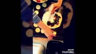 Безглютеновая пицца из рисовой муки)Веганский простой рецепт! Мое первое видео!