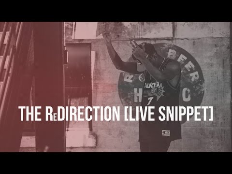 Defacto Thezpian | The ReDirection [Live Snippet]