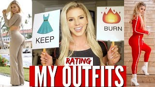 BURN or KEEP | Friends Rate My Outfits 😂