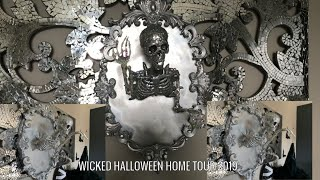 Wicked Manor Halloween Home Tour 2019