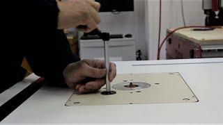 Make a Router table - Piano Banco fresa
