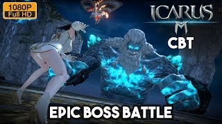 ICARUS M Gameplay Part 2 CBT Android (Open World MMORPG)