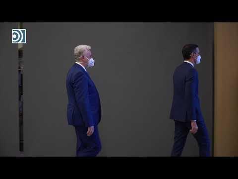 El encuentro entre Pedro Sánchez y Joe Biden se traduce en un paseo de 20 segundos